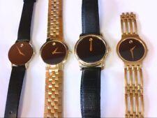 4 Movado Watches- Parts/Restoration/Wear. Read Description. NICE COLL. BUY NOW!!
