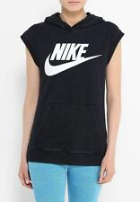 Nike Women's Solstice Sleeveless Pullover Training Hoodie 871751-010 Large NWT