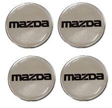 Mazda MX5 Eunos Miata Chrome Wheel Badges Made to Size