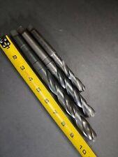 "3- MT2 Drill Bits Cle-Forge & Dormer 25/32"" 47/64"" 19/32"" Machinist Tools 2MT"