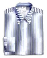 Size: LARGE - Brooks Brothers Regent Oxford Button Down, Non-Iron, 100% Cotton