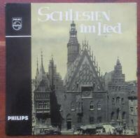"""7"""" Singel Schlesien im Lied,Glockengeläut des Breslauer Doms Philips 1960 VG+++"""
