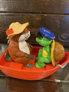 Vintage Franklin the Turtle Toy Book Red Boat Franklins Fun Day Beaver Bourgeois