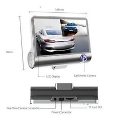 Voiture DVR Dash Cam G-sensor 1080P HD 3 Lens 4 '' Caméra de Recul