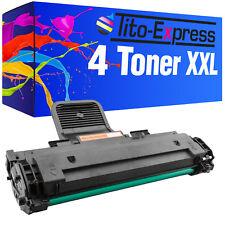 4 Toner XXL ProSerie für Samsung ML-1640 ML1640 ML1641 ML1645 ML2240 ML2241