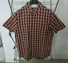 **TIMBERLAND EARTHKEEPERS CHECK SHORT SLEEVE SHIRT (SIZE MEDIUM) FAB CONDITION**
