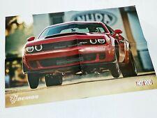 2018 Dodge Challenger Demon Poster Brochure