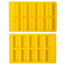Silicone LEGO Brick Style Freezer Ice Cube Tray Mold Maker Bar Party Drink DIY