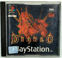 Diablo - Playstation 1 / PS1 - Avec notice / Sans jaquette avant - PAL FR