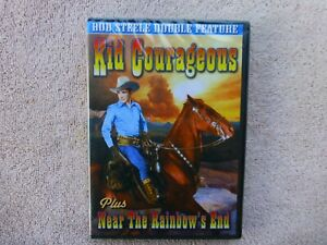 Kid Courageous  / Near the Rainbow's End (DVD B&W)   1st Class Shipping  * NEW *