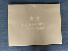 Near New Burberry Large Packaging Bag UK Edition