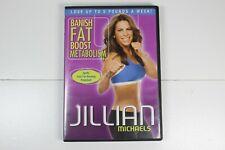 Jillian Michaels Banish Fat Boost Metabolism Workout DVD