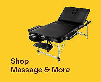 Massaging equipment and supplies