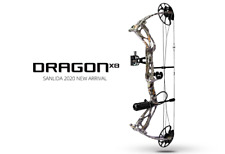 HEADHUNTER DRAGON X8 COMPOUND BOW CAMO RTH PACKAGE, 0-60LB, 18-31""