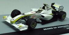 Altaya 1/43 Scale - Brawn GP Mercedes BGP 001 Barrichello Aus '09 F1 Diecast Car