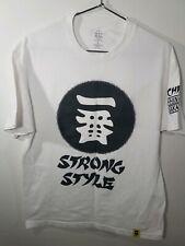 Shinsuke Nakamura Strong Style Large White Nxt Wwe T Shirt Ichiban