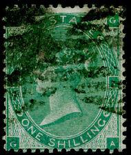 SG90, 1s green, USED. Cat £275. GA