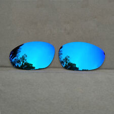Ice Blue Mirrored Replacement Lenses for-Oakley X Metal XX Sunglasses Polarized