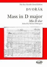 Mass in D Major Op. 86 Soprano Alto Tenor Bass Soloists SA | Dvorak Antonin