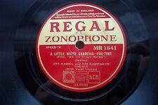 ART KASSEL 78 RPM A LITTLE WHITE GARDENIA REGAL ZONOPHONE MR1641