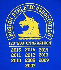 """2021 Boston Marathon X 2-10 """"Iron Year Decals"""" to Iron On your own Shirt"""