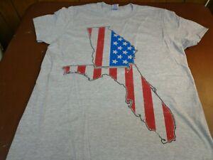 Florida Georgia Line  Gray Concert  2015 Tour T Shirt  Country Music Medium  F21