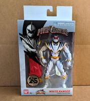 "Power Rangers Legacy Dino Thunder White Ranger 6"" Action Figure - New MIB"