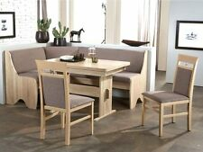 Eckbankgruppe Tischgruppe Essecke Eckbank Tisch Stühle Sonoma Eiche Rumba II