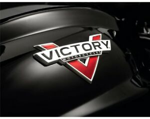 Victory Motorcycles Tank badge kit....2879419..Judge..Cross Roads..Cross Country