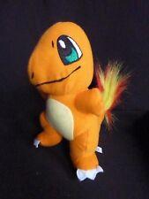 "Pokemon Pikachu Charmander Orange Plush Doll 7"""