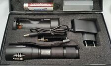 Original TacticLight TL360 Taschenlampe Box Set Akku + Ladegerät +NEU+