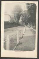 Postcard Andover Hampshire early view of Weyhill Road