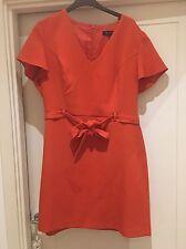 New Look Orange Dress Size 18