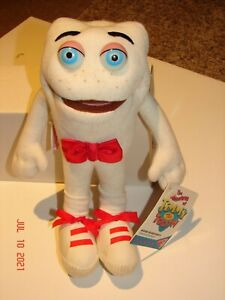 Vintage THE ADVENTURES OF TIMMY THE TOOTH  Dakin PLUSH TOY Doll 1995 TV Show NWT