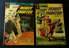 MAGNUS ROBOT HUNTER 4000 A.D. #13 #32  NICE COPIES SILVER AGE GOLD KEY COMICS