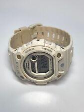 Casio Baby-G BLX-100 White On White Ladies Quartz Digital Watch