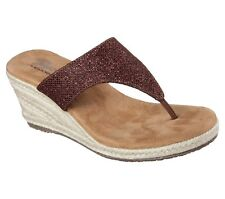 89281280cd7a SKECHERS Med (1 in. to 2 3 4 in.) Synthetic Wedge Women s Sandals ...