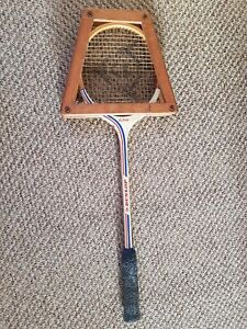 Vintage Dunlop Alpha squash racket sports collectable