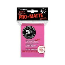 10 x PACKS of YUGIOH sized Ultra Pro PINK PRO-MATTE Card Sleeves 60ct NEW!