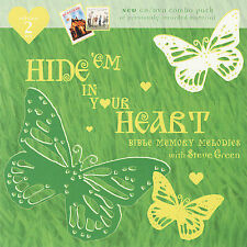 Hide 'em in Your Heart: Bible Memory Melodies, Vol. 2 by Steve Green CD/DVD