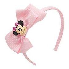 Disney Store Minnie Polka Dot Pink Bow Headband Costume Dress Up NWT