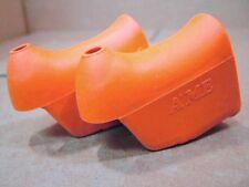 New-Old-Stock Brake Lever Hoods (Non-Aero)...Orange/Peach Color