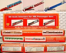 HO train IHC 3 INTERIORS for SS & CS Passenger Cars