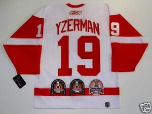 STEVE YZERMAN Detroit Red Wings STANLEY CUP JERSEY