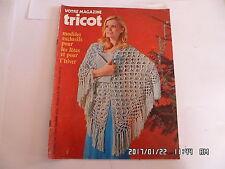 VOTRE MAGAZINE TRICOT N°154 NOVEMBRE 1972 MODELES HIVER     K20