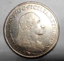 Naples Ferdinand IV Plaque 1790 BB + Sig Periz
