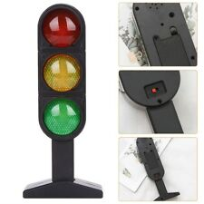 Miniature Plastic Road Street Traffic Light Sigh Model Kids Role Play Toy
