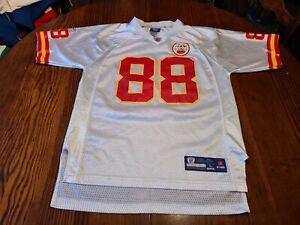 Reebok Tony Gonzalez Kansas City Chiefs Jersey Size L Youth #88 Vintage On Field