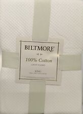 Biltmore Cotton Blanket King - Ivory Dish