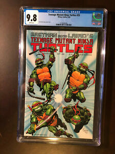Teenage Mutant Ninja Turtles #25 CGC 9.8 WP NM/MINT Mirage
